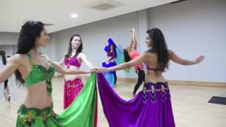 Mannequin Challenge belly dance style by Fleur Estelle Dance Company