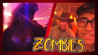 zombie verliefd op mij zombies laten dabben
