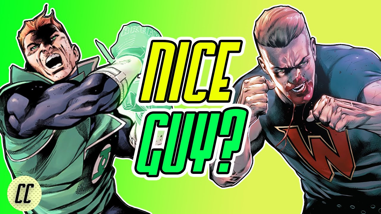 "The CONFUSING HISTORY of ""Nice"" GUY GARDNER | Backup Green Lantern"