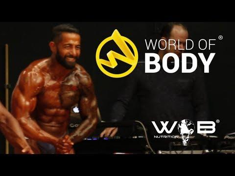 Hesam K. Deutsche Meisterschaft 2017 NAC Athletik 1 Bodybuilding Wettkampf Fitness Natural