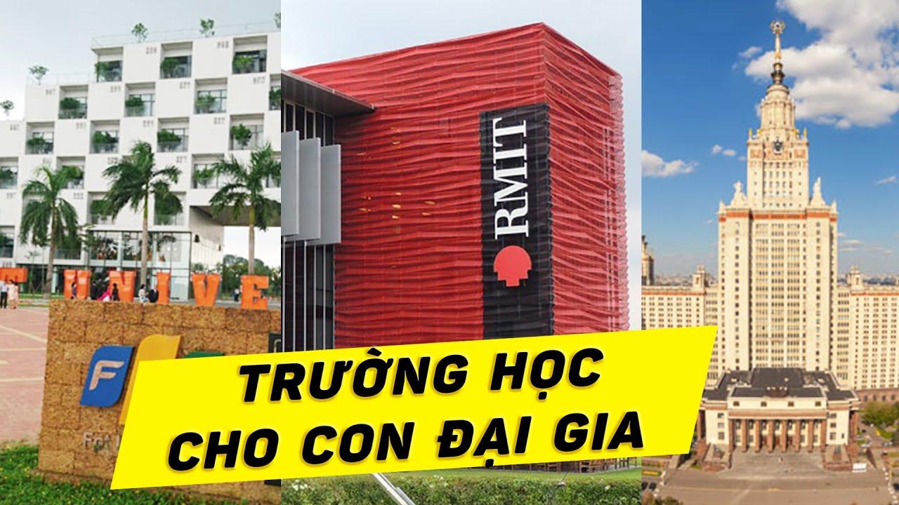 """Top 8 trường đại học có học phí """"KHỦNG"""" nhất Việt Nam"""