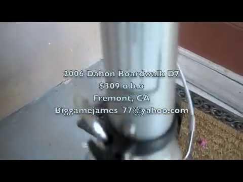 Dahon Boardwalk D7 Folding Bike - YouTube