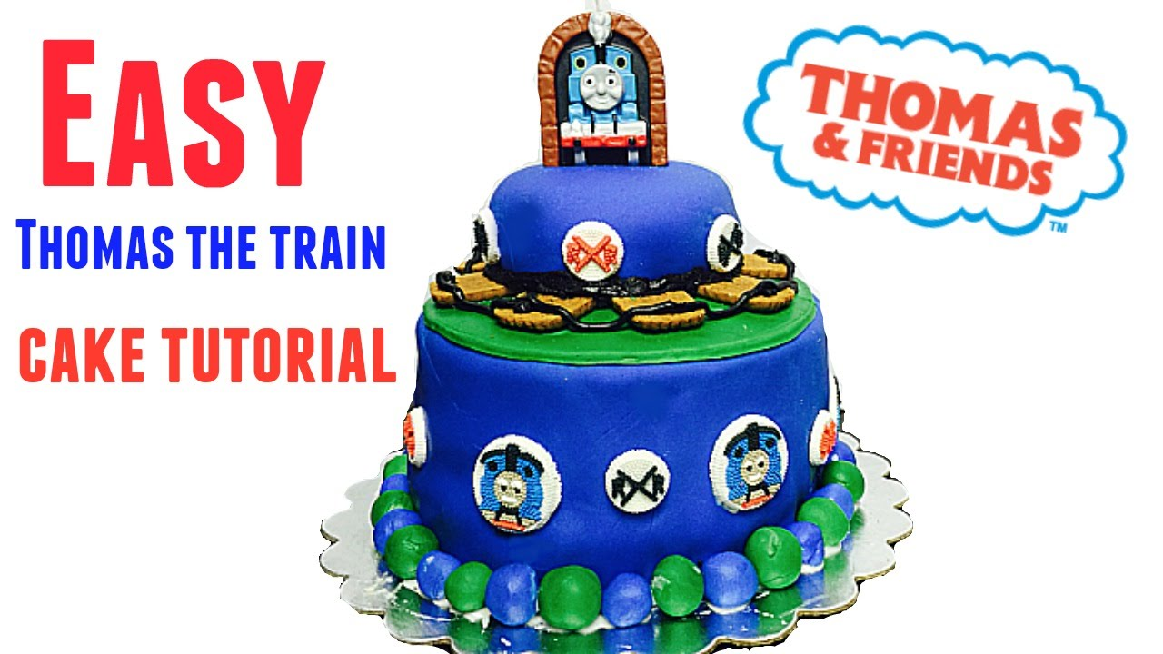 Easy Thomas The Train Cake Tutorial Youtube