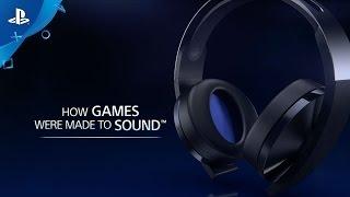 Platinum Wireless Headset - Launch Video | PS4