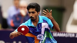 Sathiyan Gnanasekaran - India's Tokyo Table Tennis Hope (Close To The Table Player)