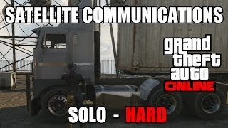 GTA V Online - Satellite Communications Trevor Mission - SOLO - HARD (GTA 5) after patch 1.15