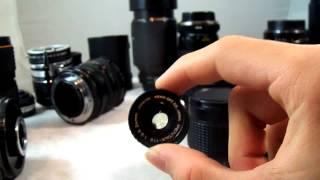 3 5 6 7 С3 Ф3 5н 5р бюджетні фотографії мануальні об'єктиви і адаптери для системи Сони Некс