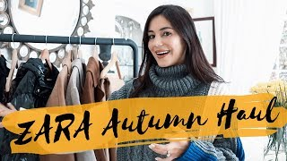 HUGE ZARA AUTUMN HAUL (TRY-ON) | MIA ROSE
