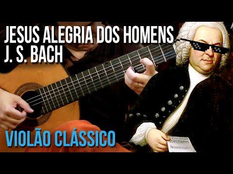 J. S. Bach - Jesus Alegria Dos Homens (aula De Violão Clássico)