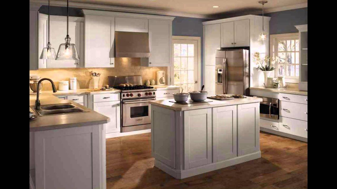 Thomasville Kitchen Cabinets - YouTube