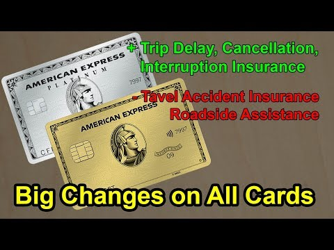 American Express MASSIVE Benefits Changes | Good And Bad