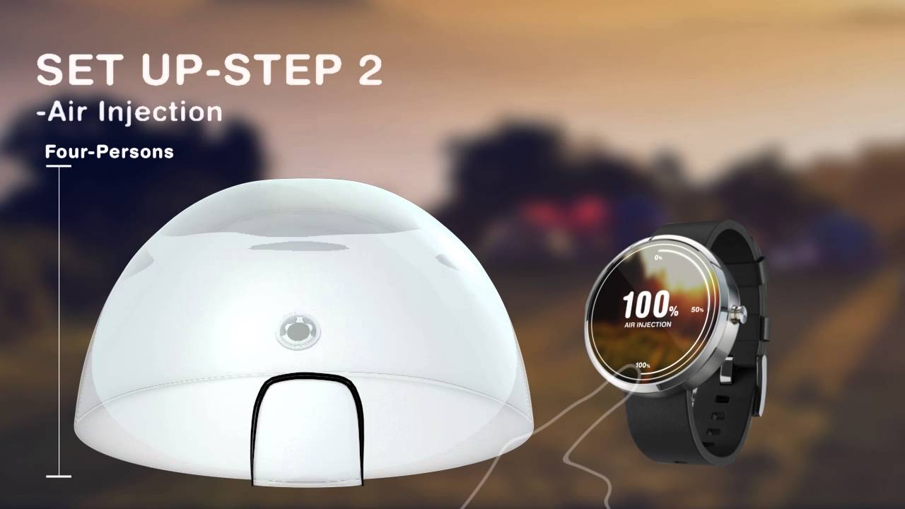 & Smart bubble tent. part 1 - YouTube
