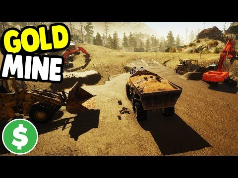 FILLING DUMP TRUCK & GETTIN' GOLD | GOLD RUSH: THE GAME GAMEPLAY