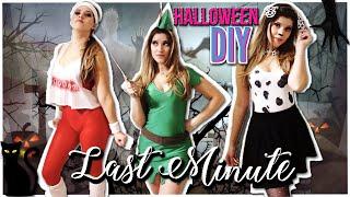 Last Minute *easy* Halloween Costumes 🎃DIY