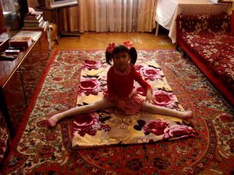 Карина-гимнастка!