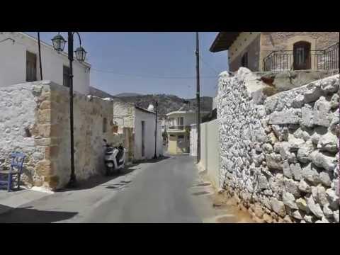 A Ride Through Malia Old Town To Alexander Beach Hotel  03.08 2012 |HD|