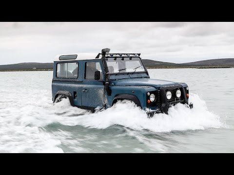 Land Rover Defender vs the Atlantic Ocean – and the car wins (just)