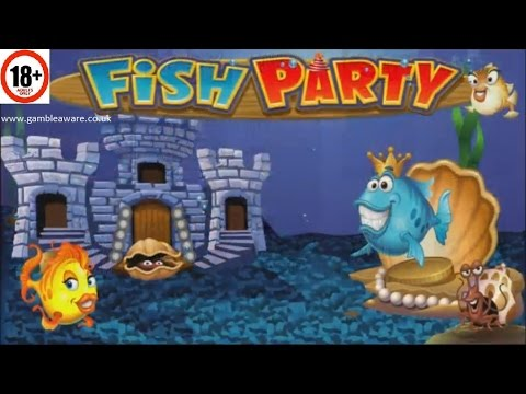 Fish Party Slot | ALL FEATURES + BIG WIN | Microgaming
