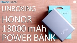Huawei Honor 13000 mAh Power Bank Unboxing and Hands on Overview