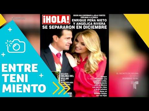 Peña Nieto y Tania Ruiz, se casarán próximamente   Un Nuevo Día   Telemundo