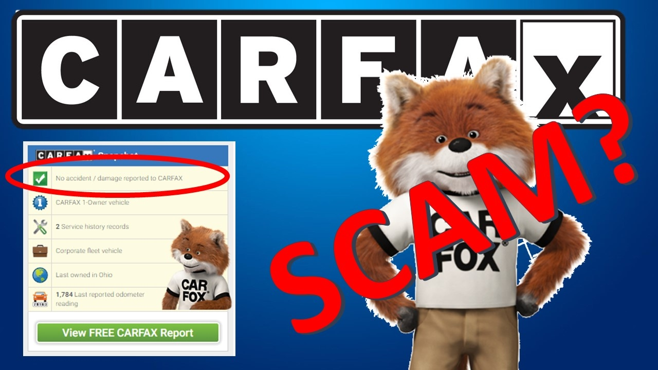 CARFAX Scam Is Real!