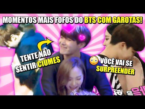 BTS SENDO FOFOS COM GAROTAS!