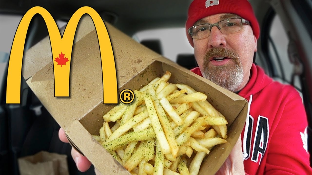 McDonald's ????  Parmesan & Garlic Seasoned Fries