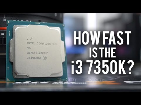 How Fast is the Core i3 7350K? Is it an i5 Killer?