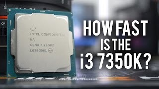 how fast is the core i3 7350k is it an i5 killer
