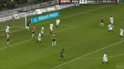 Joonas Kolkka & Ibrahim Afellay PSV Eindhoven vs  NAC Breda 2009