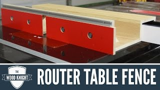 088 - Router Table Fence (for tablesaw router wings)