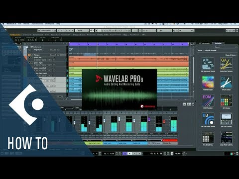 How to Use WaveLab Exchange in Cubase | Q&A with Greg Ondo