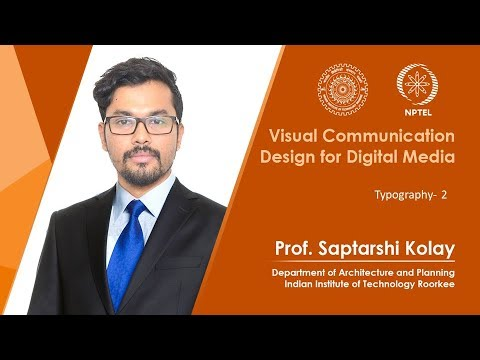 Lecture 08: Typography- 2