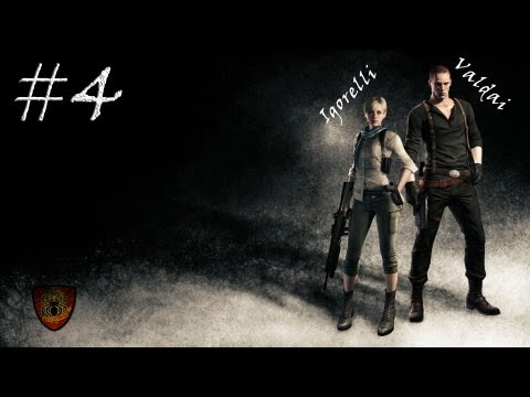 Смотреть прохождение игры [Coop] Resident Evil 6. Серия 27 - Ужасы пещеры.