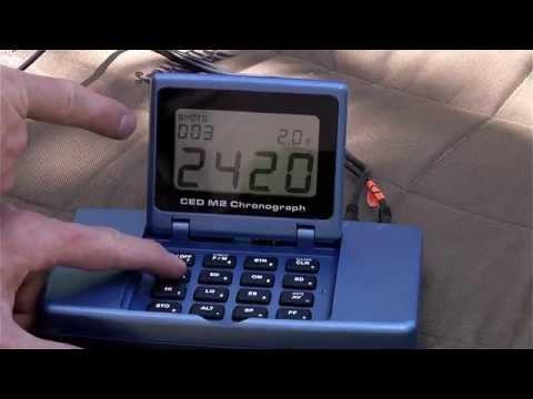 CED Chronograph Overview, Setup, Pistol and Rifle Shooting