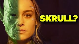 Captain Marvel Theory! SKRULL IMPOSTOR? #SkrullSearch