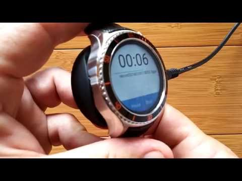 IQI Tech's SOLID I2 Android 5.1 Round Smartwatch: Unboxing and 1st Look