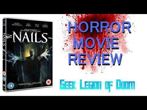 NAILS ( 2017 Shauna Macdonald aka P.O.V. ) Haunted Hospital Horror Movie Review