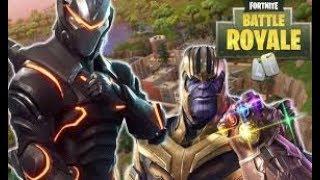 Thanos in Fortnite!!!