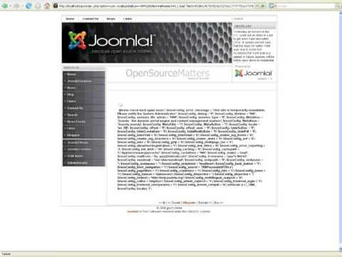 Advanced Mysql Injection In Joomla