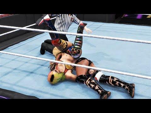 WWE 2K20 - Asuka vs Alicia Fox.