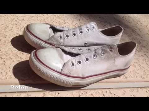 How I Clean My White Converse