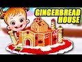 Baby Hazel Gingerbread House Movie Episode | Christmas Decorations | Baby Hazel Games