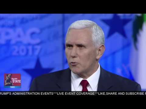 AMAZING: Vice President Mike Pence Speaks at CPAC 2017