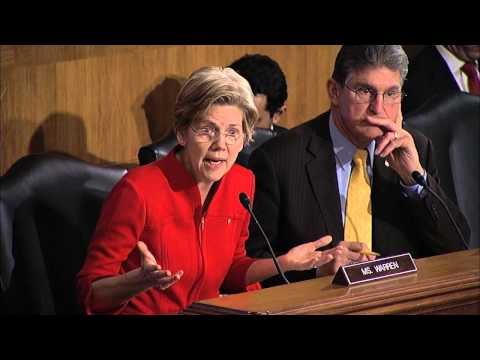 Senator Elizabeth Warren's First Banking Committee Hearing