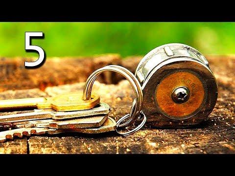 СВОИМИ РУКАМИ – 5 САМОДЕЛОК. ЧТО МОЖНО СДЕЛАТЬ САМОМУ ИЗ ПОДРУЧНЫХ И НЕ ОЧЕНЬ СРЕДСТВ. КАНАЛ ДАБРО