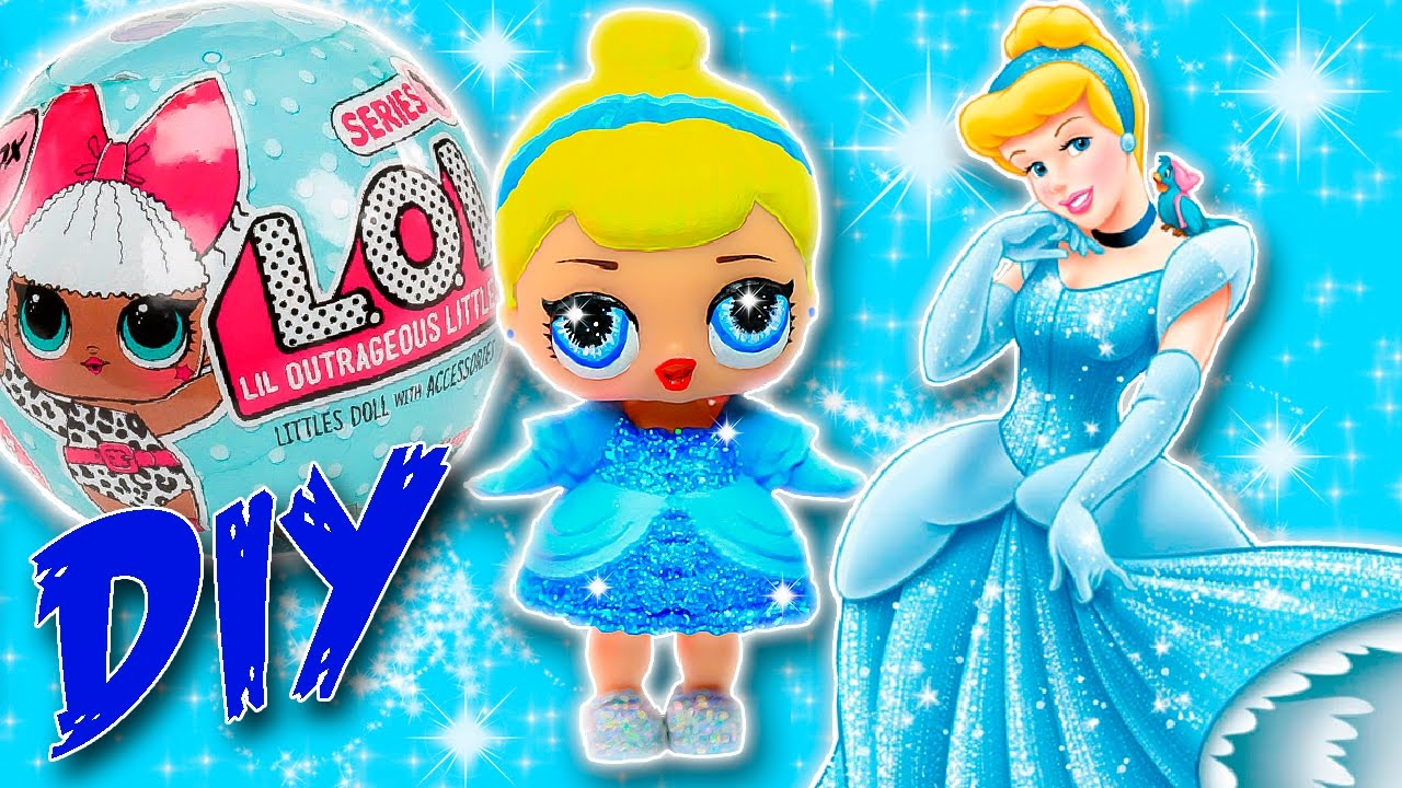 Diy cinderella lol surprise custom doll disney princess tutorial diy cinderella lol surprise custom doll disney princess tutorial lol dolls unboxing youtube altavistaventures Image collections