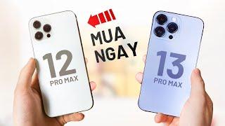 iPhone 13 sắp về rồi, mua iPhone 12 Pro Max thôi!