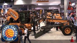 CONEXPO 2014 - Stand de CASE Construction Equipment - Mercado Vial TV