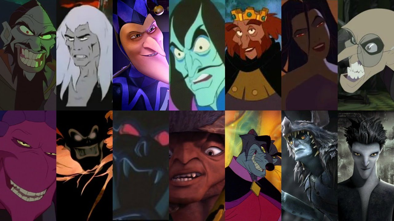 defeats of my favorite non disney animated movie villains part i